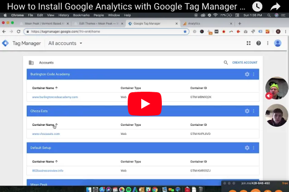 Tutorial: How to install Google Analytics with Google Tag Manager
