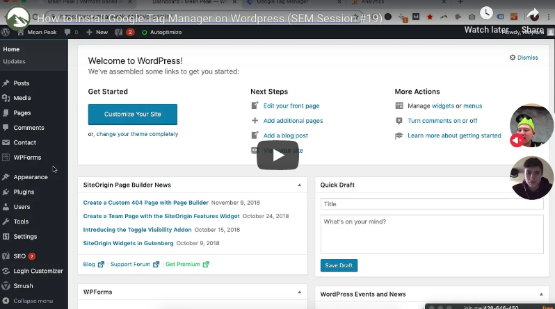 How to Install GTM on Wordpress