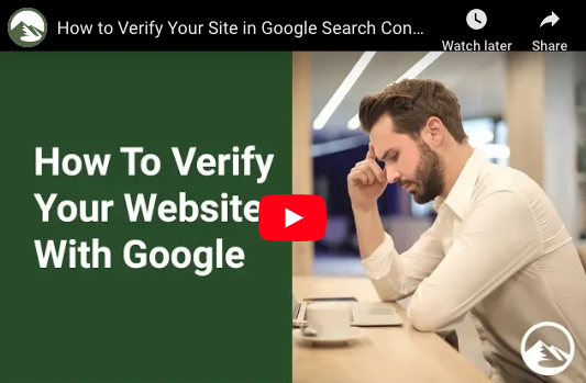 SEM Session 21: How to Verify Your Site in Google Search Console
